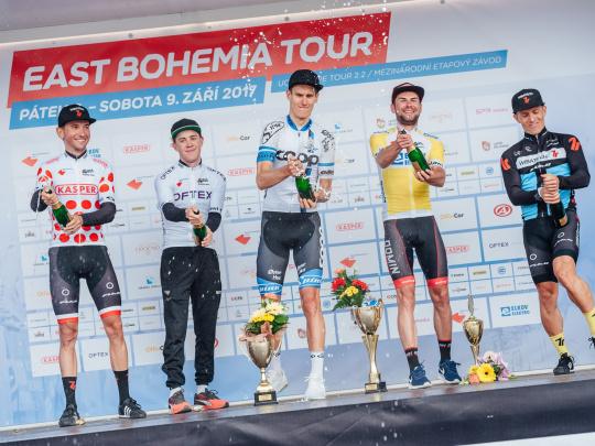 East Bohemia Tour v cyklistice